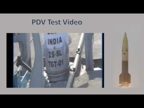 PDV Interceptor Vehicle Successfully test fired