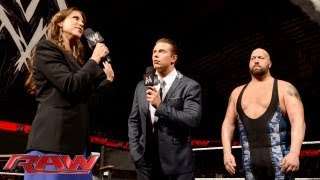 Stephanie McMahon orders Big Show to knock out The Miz: Raw, Sept. 23, 2013