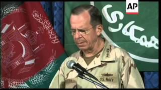 US joint chief of staff Mike Mullen visits  Kabul