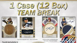 2021 Topps TIER ONE 1 Case (12 Box) TEAM BREAK #3 eBay 05/15/21