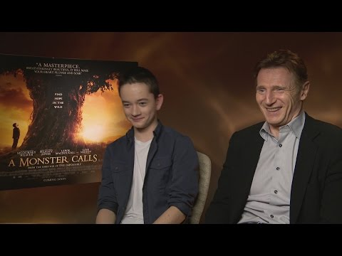 A Monster Calls: Liam Neeson cried watching his new movie streaming vf