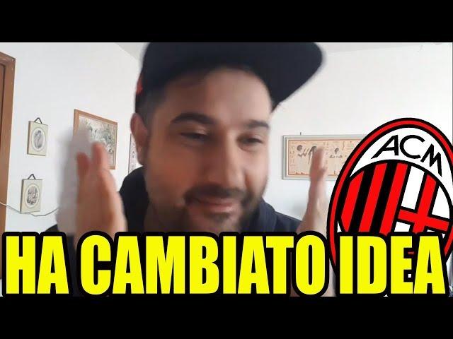 [ATTENZIONE] Sta cambiando idea || Calciomercato Milan