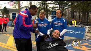 Team Hoyt Continues With New Face At 2015 Boston Marathon