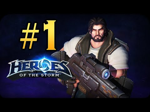 видео: hero league / Лига Героев - heroes of the storm - raynor #1 - Начало!