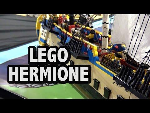 LEGO Hermione French Frigate   American Revolutionary War