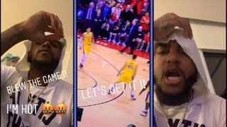 Desean Jackson Gets Heated About Laker's Loss