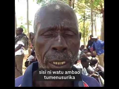 Download Mzee alienusurika kwenye Ajali ya Mv Nyerere   ailalamikia serikali Japo Hakuumia.