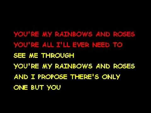 Rainbows And Roses - Gerry[Karaoke]
