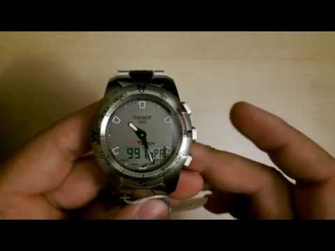 Tissot T-Touch 2 watch review