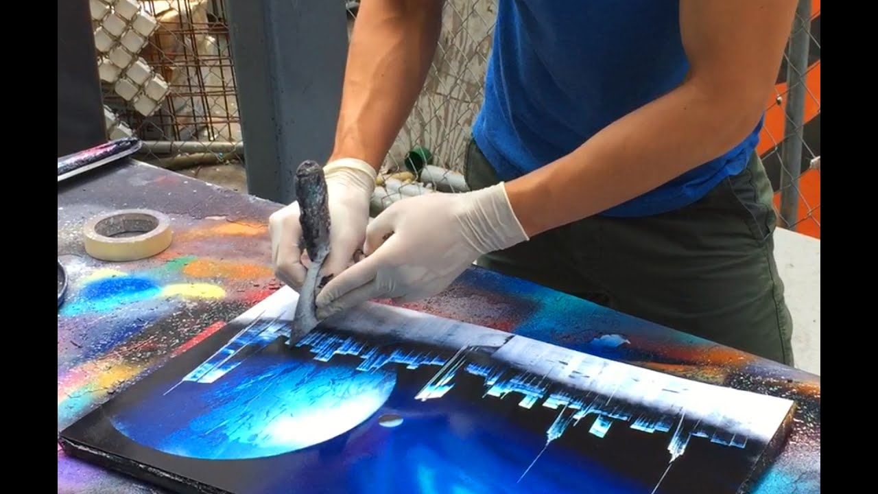 Amazing Street Artist - Spray paint (New York)