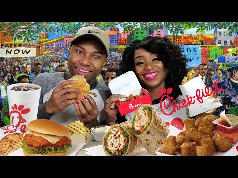 Chick Fil A Mukbang with It's Darius & St. Louis Meet n Greet Announcement