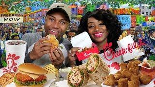 Chick Fil A Mukbang with It's Darius & St. Louis Meet n Greet Announcement
