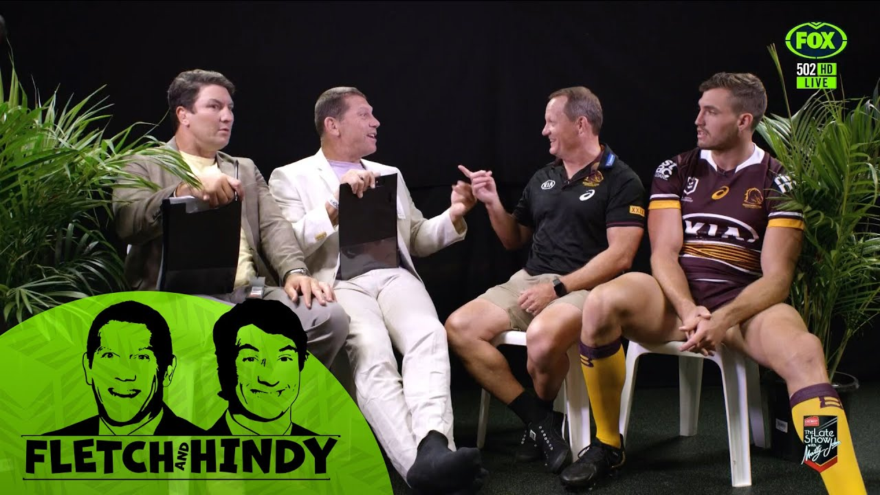 Fletch & Hindy grill Kevin Walters and Corey Oates   Between Two Plants   Fox League
