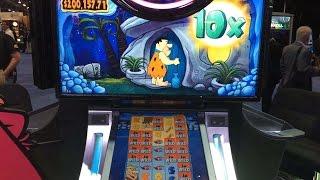 Video WMS' Flintstones slot machine (G2E) download MP3, 3GP, MP4, WEBM, AVI, FLV Mei 2018