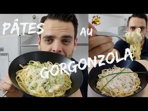 pates-au-gorgonzola-magnifiques!!!recette-simple-et-rapide-#plat-facile-et-rapide