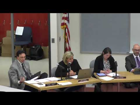 Board of Education Meeting - July 9, 2018