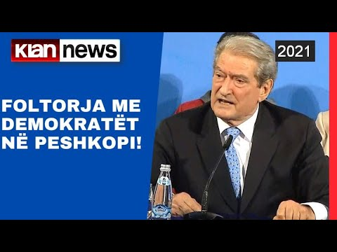Download Sali Berisha - Foltorja me demokratët në Peshkopi!