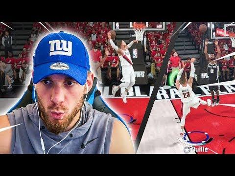 GROS DÉBUT DE PLAYOFFS NBA !! NBA 2K18 MA CARRIÈRE