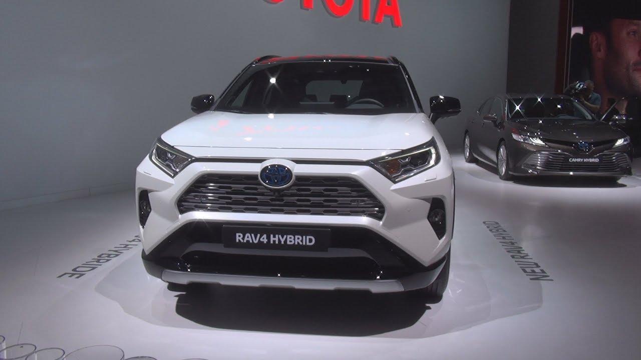 Toyota Rav4 Hybrid 2019 Exterior And Interior Youtube