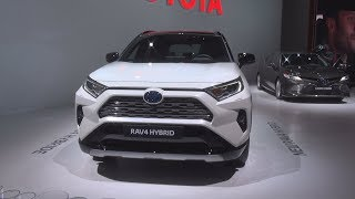 Toyota RAV4 Hybrid (2019) Exterior and Interior