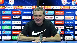 Conferință Gheorghe Hagi la finalul partidei cu Clinceni, scor 5-0