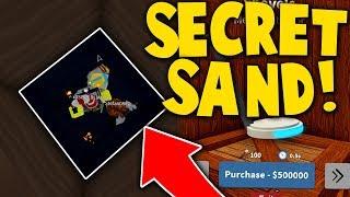 BUYING METAL DETECTOR + BEDROCK SAND!! - Treasure Hunt Simulator Roblox