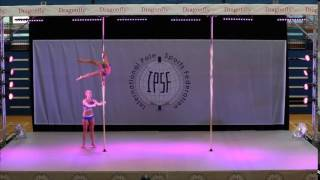 Veronika Rehorova & Ruzenka Kunstyrova - Doubles WINNERS World Pole Sports Championships 2015