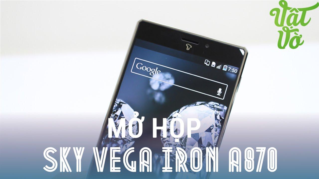 [Review dạo] Mở hộp đánh giá nhanh Sky Vega iron 1 chính hãng còn 4.990.000đ