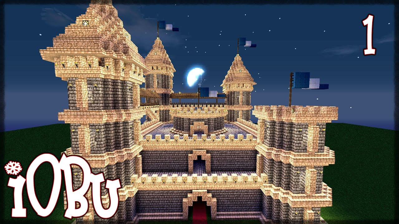 How To Build Castle In Minecraft Step By Step