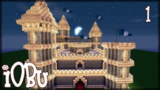 EPIC CASTLE! (Part 1/2) - Building Tutorial - Minecraft Tutorial with Download