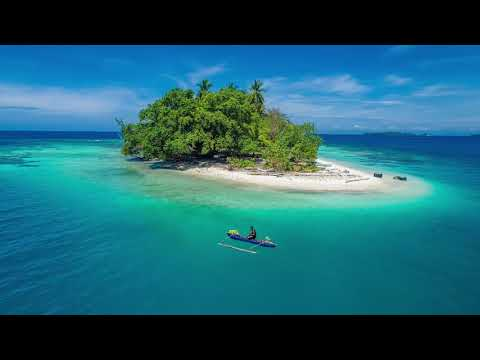 Drone montage of Madang