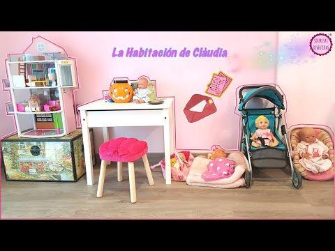 Jugamos con Lindea y Ben en la habitación de Clàudia Room Tour Casita de muñecas FanMail