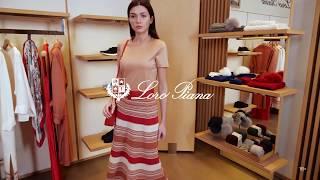 Новая коллекция Loro Piana Женский летний образ Фирменный бутик в Лакшери Store Тренды 2020