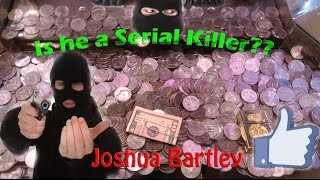 Coin Pusher Big Wins | Was I playing next to a Serial Killer!? | Joshua Bartley