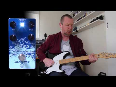 Walrus Audio: MAYFLOWER OD (Take 2 - in mono) - Demo