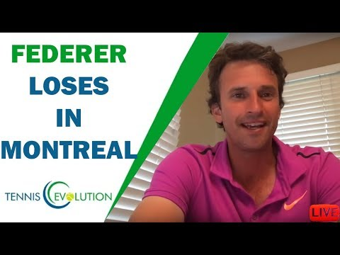 Federer loses in Montreal