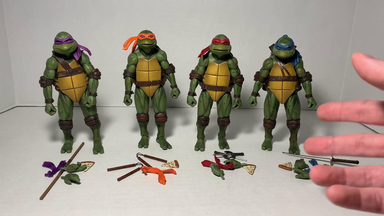 Neca Teenage Mutant Ninja Turtles Tmnt 1990 Movie Gamestop