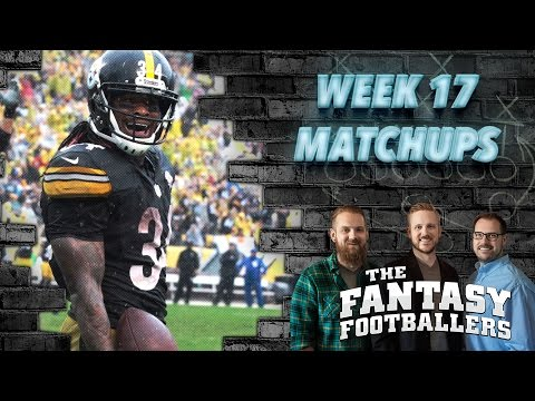 Fantasy Football 2016 - Week 17 Matchups, In-or-Out, Playoff Decisions - Ep. #339
