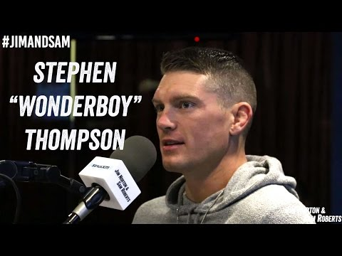 Stephen Wonderboy Thompson - UFC 209, Texas Trans Wrestler, Pre-Fight Sex - Jim Norton & Sam Roberts