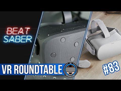 F8 | Oculus Go & Half-Dome Prototye | BeatSaber | BoxVR | Episode 83 of VR Roundtable
