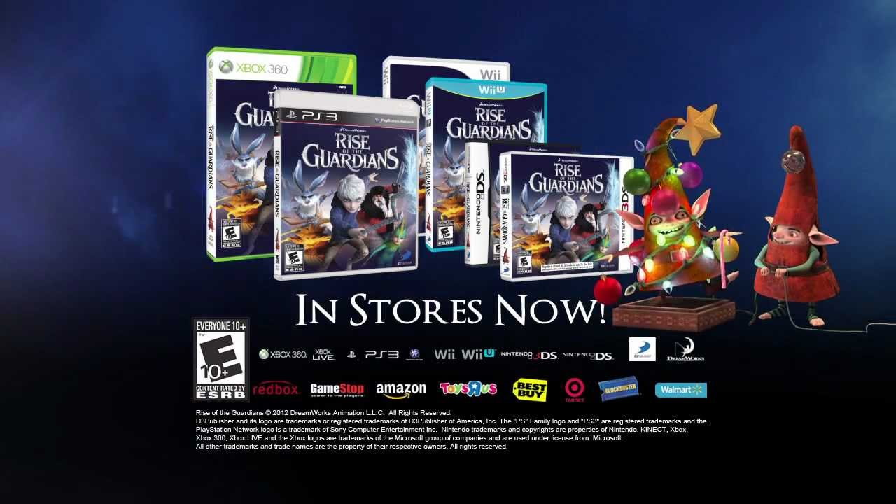 Rise Of The Guardians The Video Game Launch Trailer Youtube
