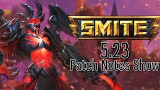 Smite Patch 5.23: ARES TIER 5 SKIN AND FINALLY A ZHONG SKIN! | Incon