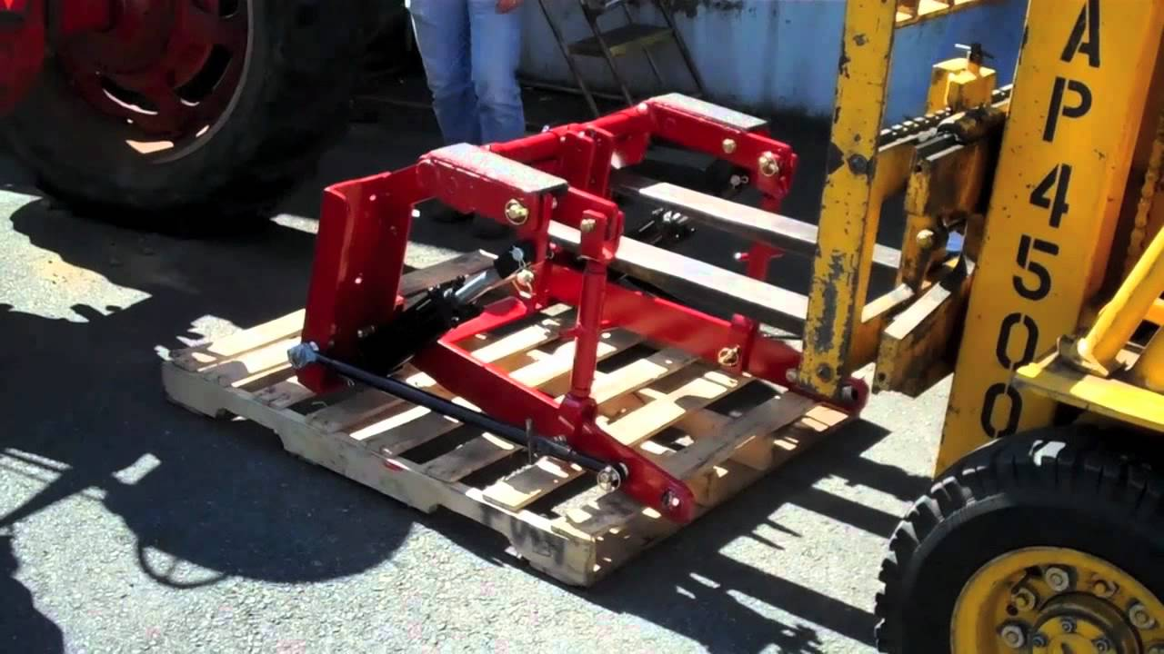Installing a 3-point Hitch Adapter on a Farmall M