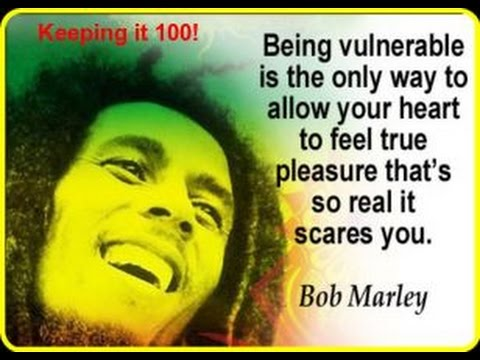 The ability to be vulnerable...a REAL sign of maturity and confidence in YOU!