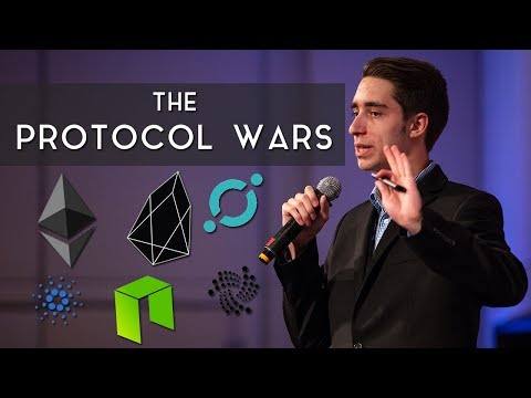 """The Protocol Wars"" | Blockchain Speech at Tokenomx"