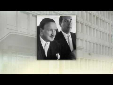 Deutsche Bank - Vorstandssprecher Hermann J. Abs