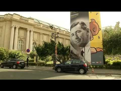 Exposition Hergé au Grand Palais à Paris