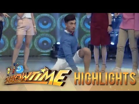 It's Showtime: Birthday boy Nikko Natividad takes on the