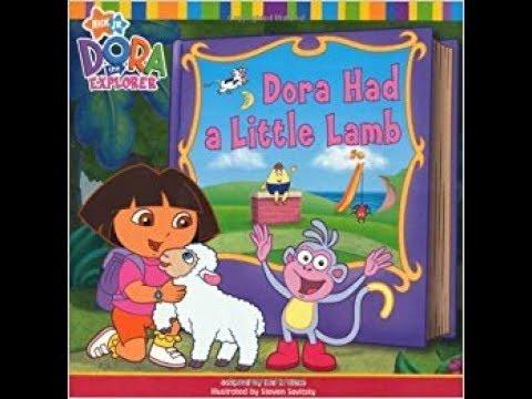 Dora the Explorer Dora Had a Little Lamb Book - YouTube