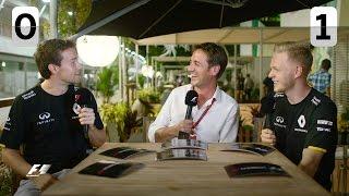 Test Your Team Mate:  Magnussen vs Palmer